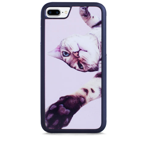 CUTE CAT PINK FOR IPHONE 7 PLUS