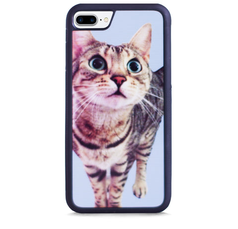 CUTE CAT BLUE FOR IPHONE 7 PLUS
