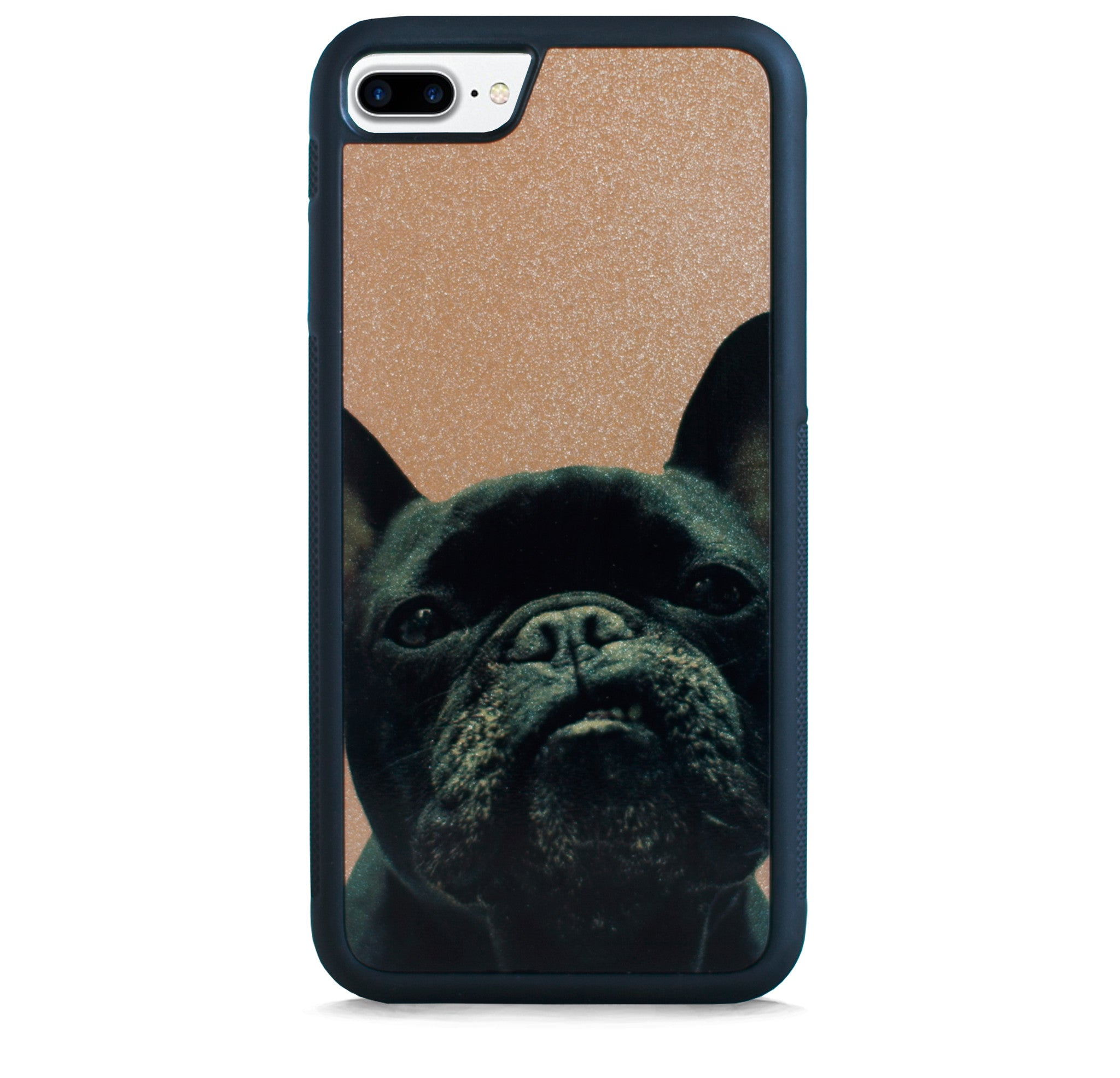 FRENCH BULLDOG ON GOLD FOR IPHONE 7 PLUS