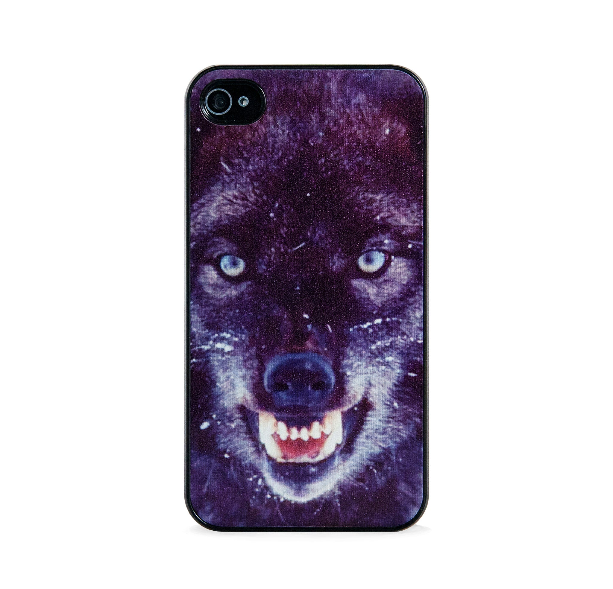 WILD WOLF BLACK FOR IPHONE 4/4S