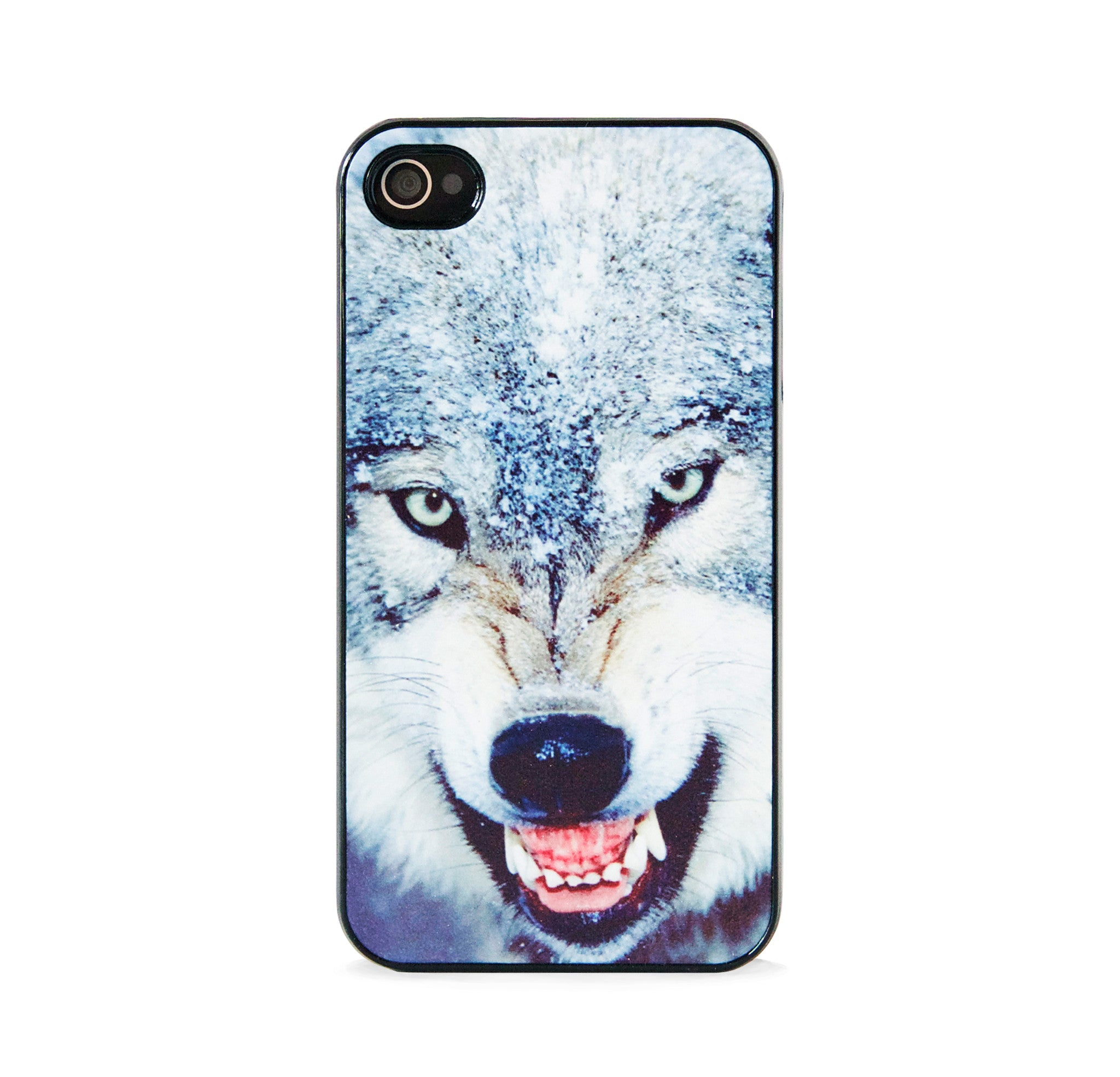 WILD WOLF SILVER FOR IPHONE 4/4S