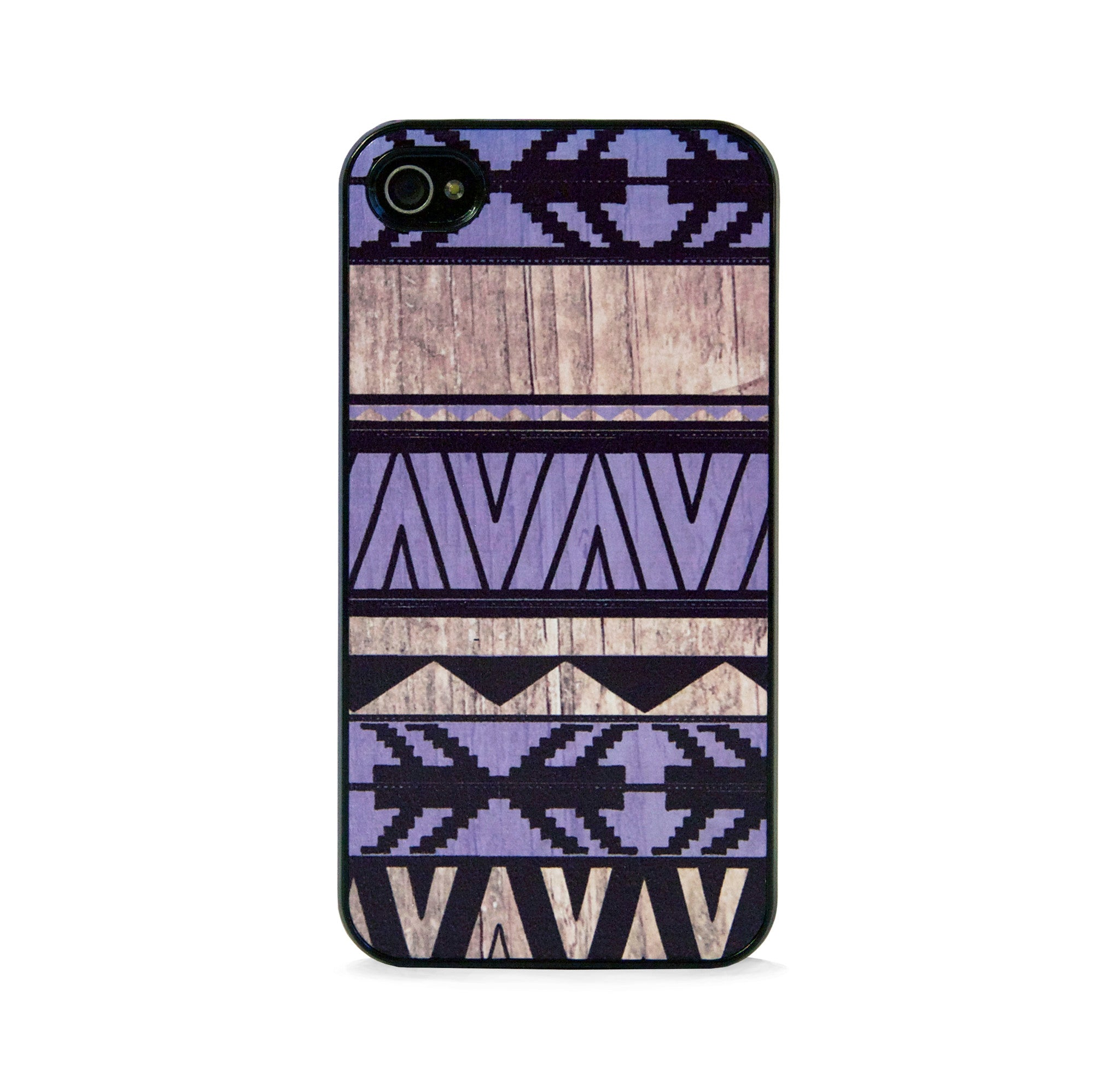 AZTEC GEO PPL WOOD FOR IPHONE 4/4S