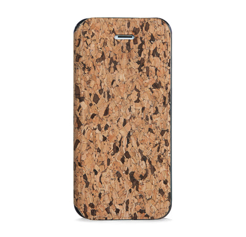 CORK WALLET CASE FOR IPHONE 5/5S - SEAMLESS PATTERN