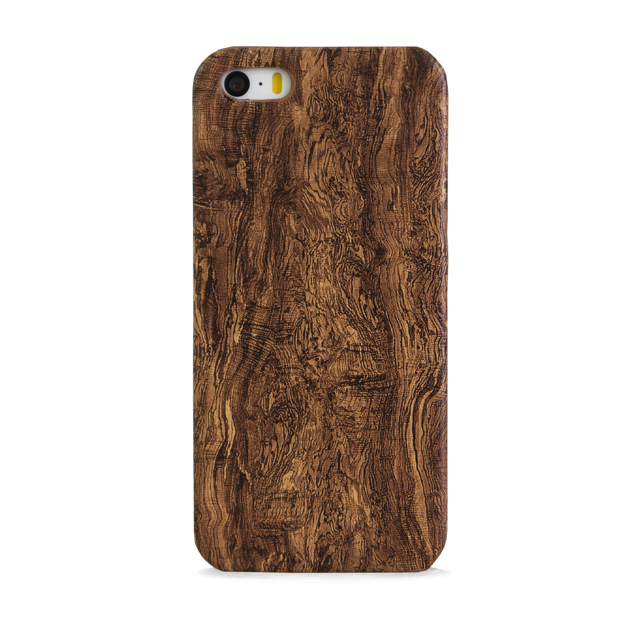 FAUX WOOD DESIGN DARK IPHONE 5/5S CASE