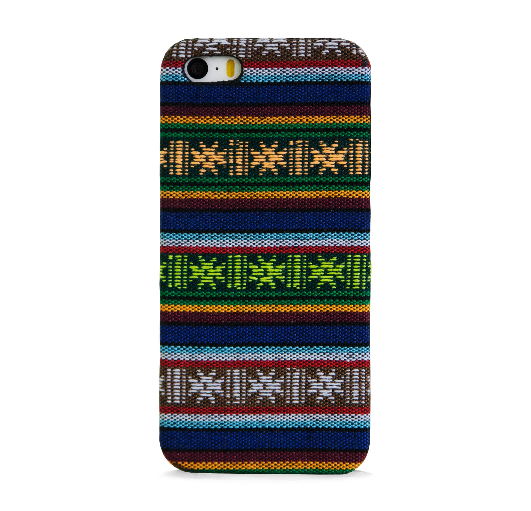 FABRIC WITH AZTEC PATTERN THIN IPHONE 5/5S CASE