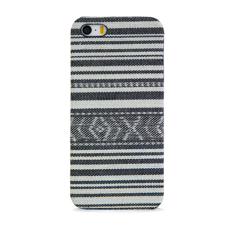 FABRIC WITH AZTEC PATTERN LINE IPHONE 5/5S CASE