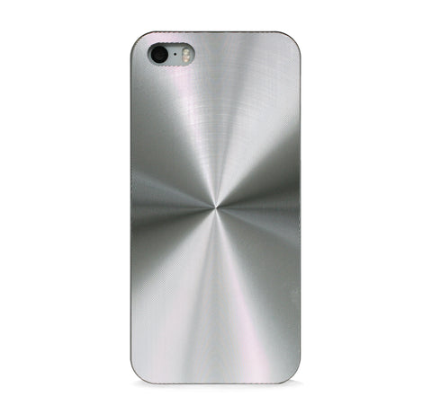 GEOMETRIC METAL SILVER CASE FOR iPhone 5 / 5s