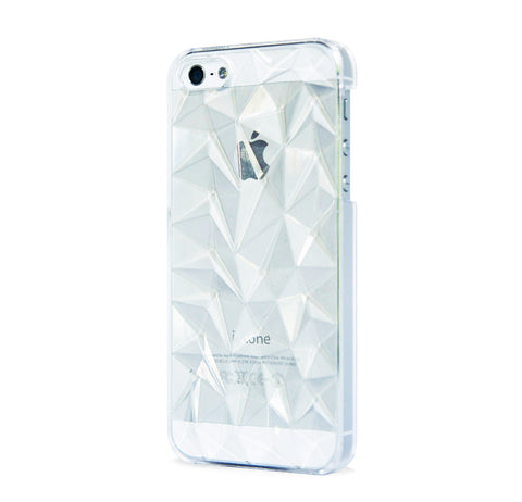 iPhone 5/5s MULTI FACETED CASE CLEAR