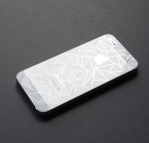 IPHONE 5/5s GEOMETRIC SHATTERED CRYSTAL SCREENGUARD
