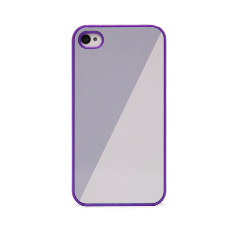 COLOR BLOCK GREY PPL FOR IPHONE 4/4S