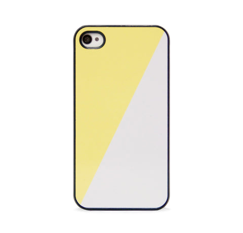 COLOR BLOCK GEO YLLW BLK FOR IPHONE 4/4S