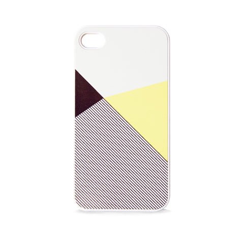COLOR BLOCK GEO LEMON FOR IPHONE 4/4S