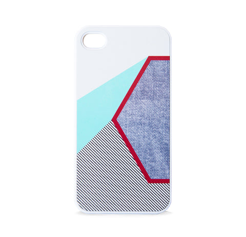 COLOR BLOCK HEX MINT FOR IPHONE 4/4S