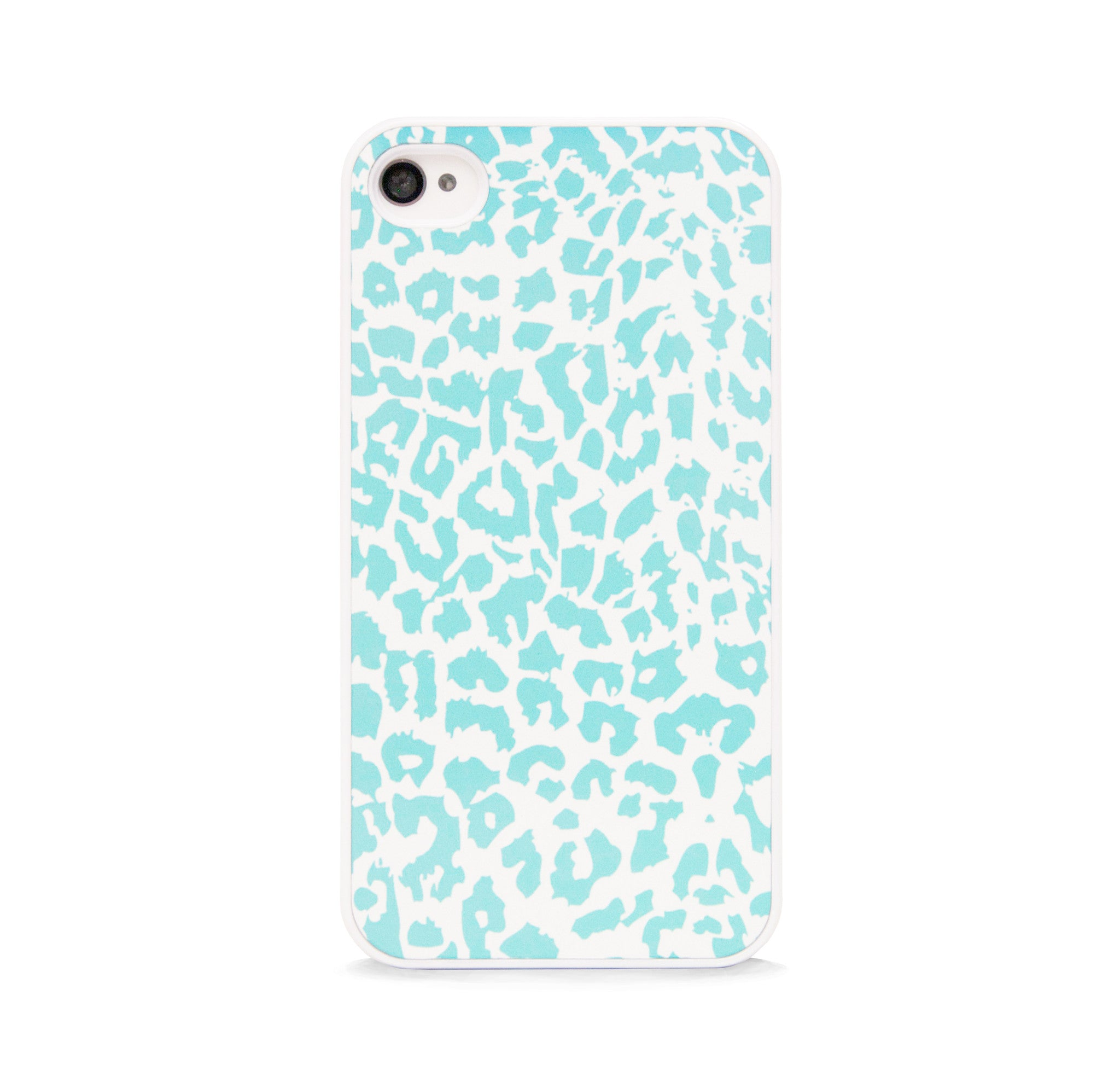 LEOPARD TEAL FOR IPHONE 4/4S
