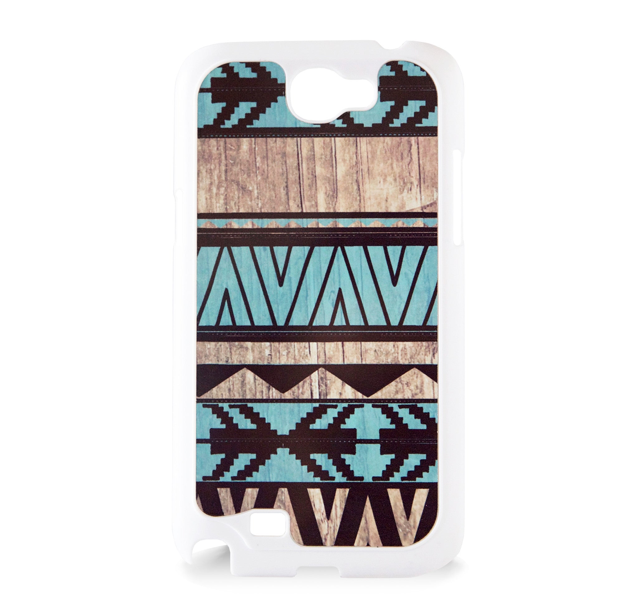 GALAXY NOTE 2 AZTEC ON WOOD PRINT MINT