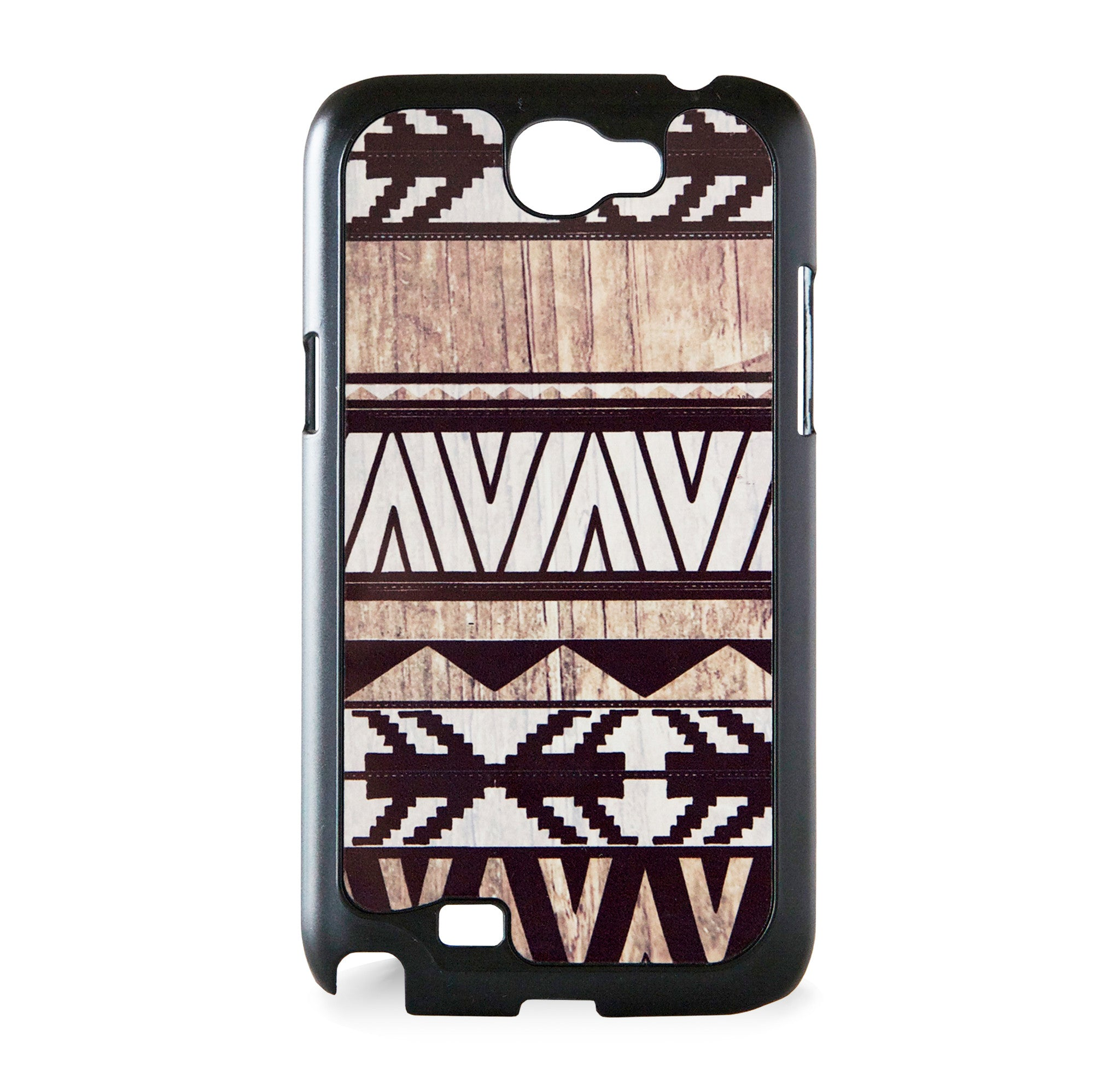 GALAXY NOTE 2 AZTEC ON WOOD PRINT WHITE