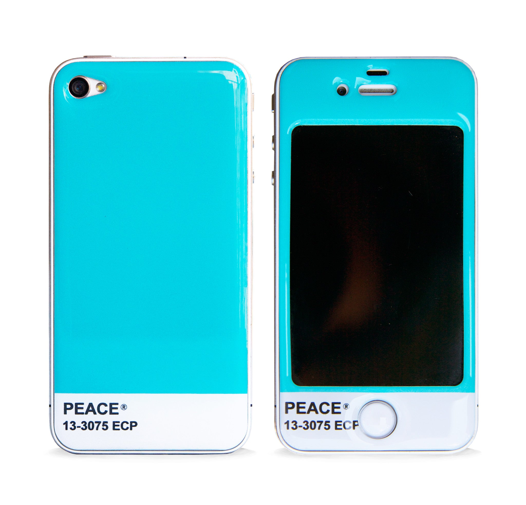 COLOR TONE MINT 3D GEL SKIN FOR IPHONE 4/4S