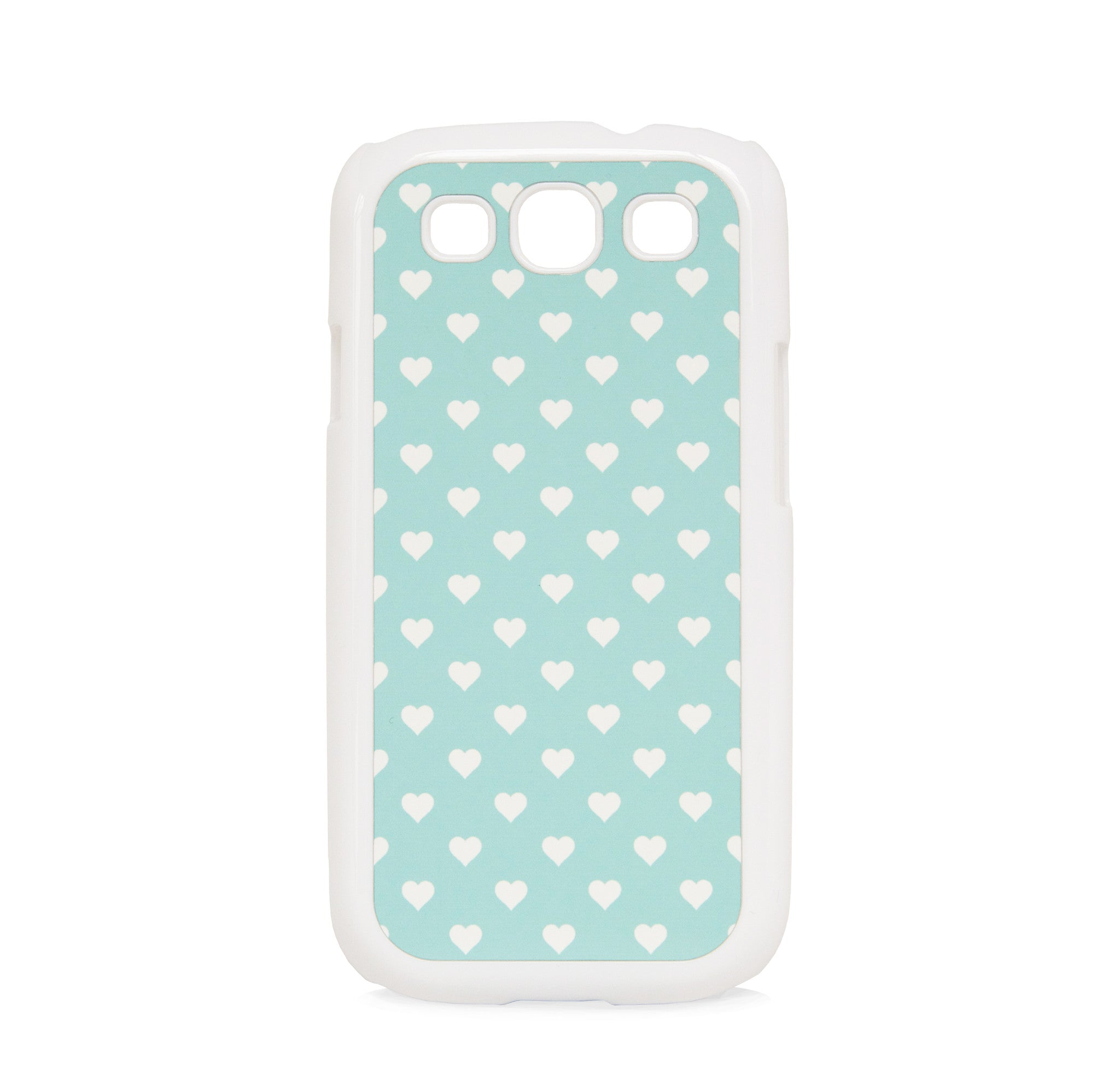 GALAXY S3 POLKA HEART MINT