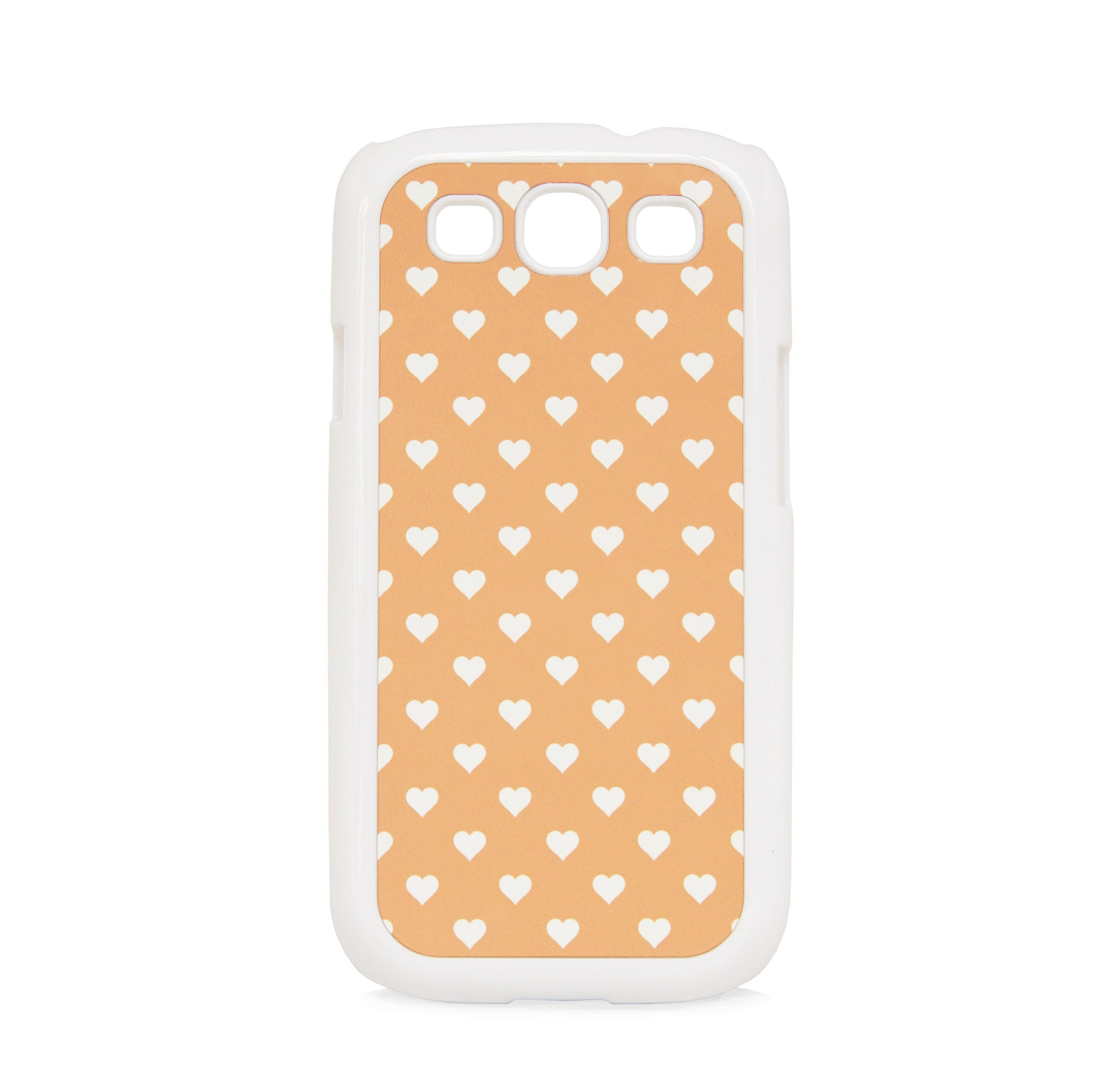 GALAXY S3 POLKA HEART ORANGE