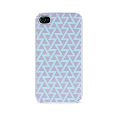 COLOR BLOCK TRI PURPLE FOR IPHONE 4/4S