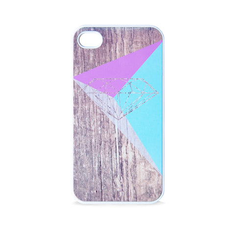 DIAMOND TRI PPL BLUE FOR IPHONE 4/4S