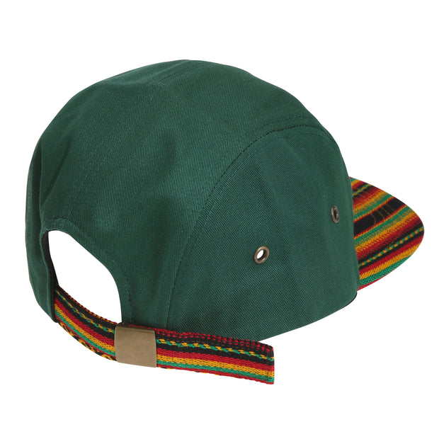 [Camp Cap] Inca fabric_Camp Cap_Green - Inpire Co.