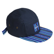 [Kids] Inca fabric_Camp Cap_Blue - Inpire Co.