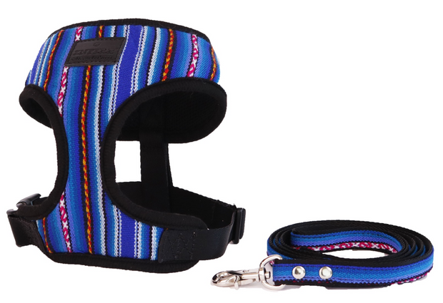 [Harness] For Small~Mid Size Pet_Blue - Inpire Co.