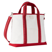 [Bag] Canvas Tote Bag_Red - Inpire Co.