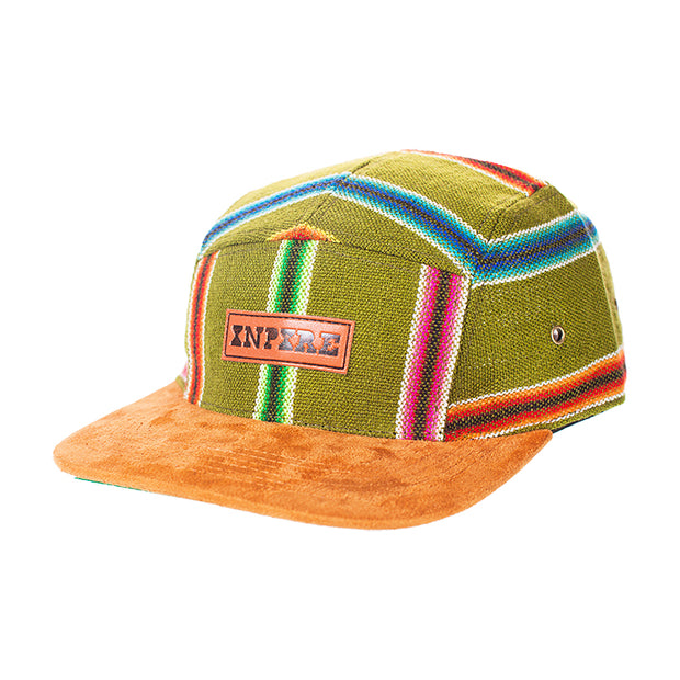 [Originals] Iquitos Stripe Camp Cap - Inpire Co.