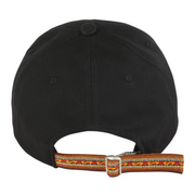 [Daily Cap] Inca Fabric_Logo Cap_Black/Brown - Inpire Co.