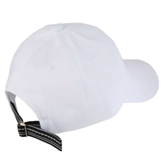 [Daily Cap] Inca Fabric_Logo Cap_White/Black - Inpire Co.