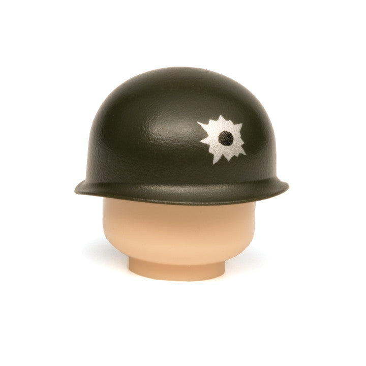 Bullet Hole M1 Pot Helmet