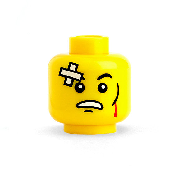 Beat Up Head 2 (Yellow)