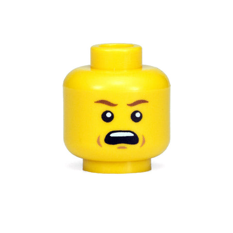 Yelling Head (Yellow)
