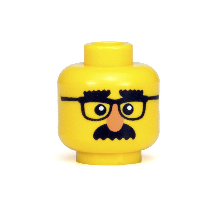 Master of Disguise Head (Yellow)