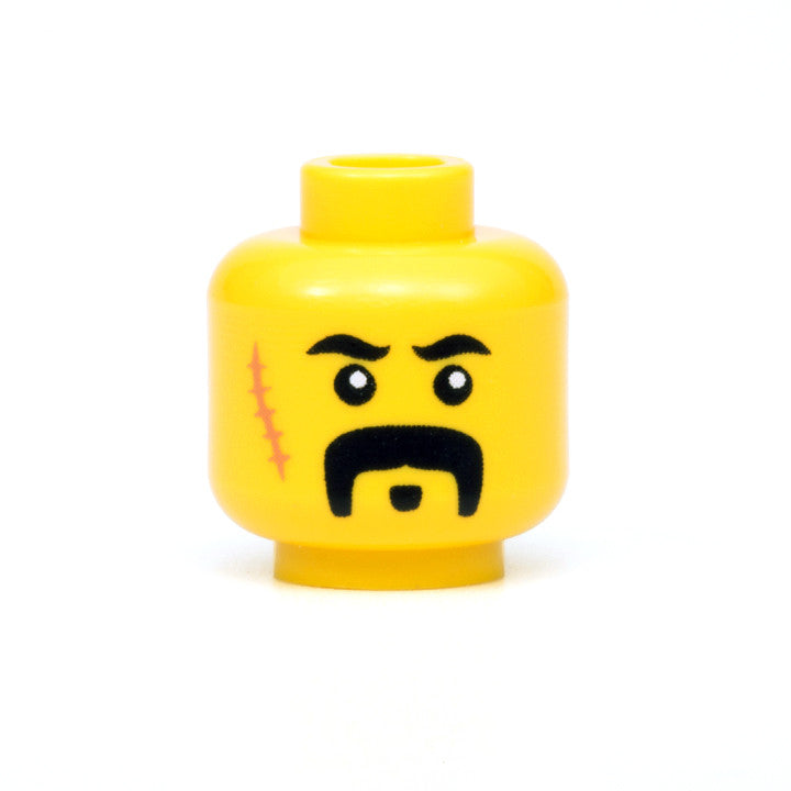 Tough Guy Head (Yellow)