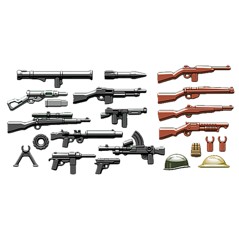 BrickArms Allies Weapons Pack