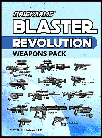 BrickArms Blaster Weapons Pack - Revolution