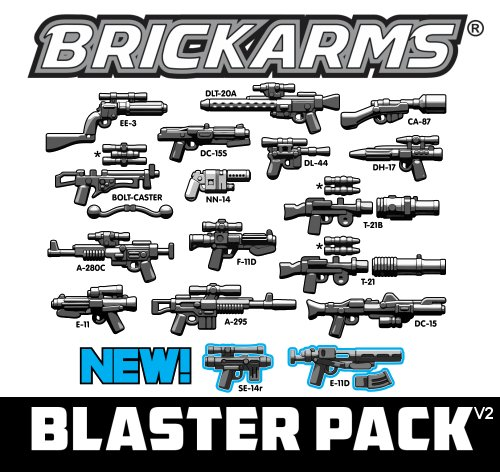 BrickArms Blaster Weapons Pack v2