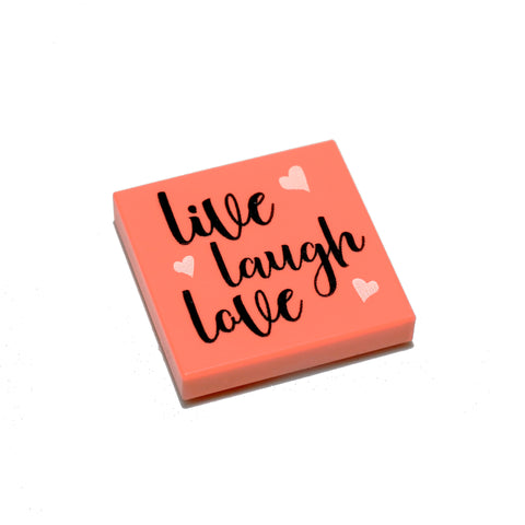 Basic Live Love Laugh Tile