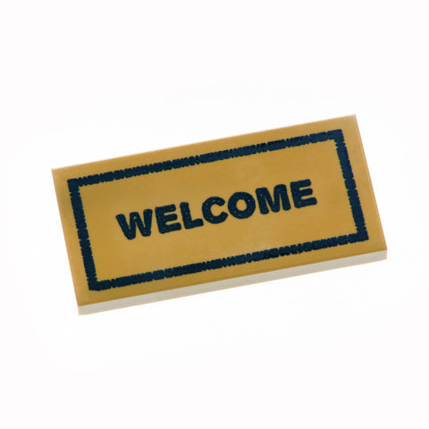 Welcome Mat - Dark Tan