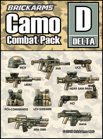 BrickArms Camo Combat Pack D