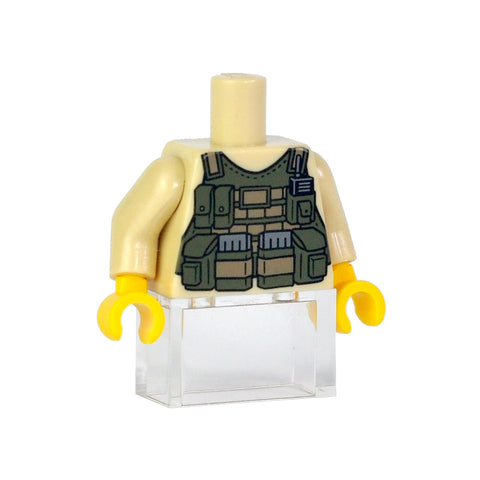 Tactical Vest - Tan