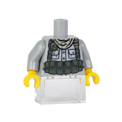 Tactical Chest Rig - Light Bluish Grey