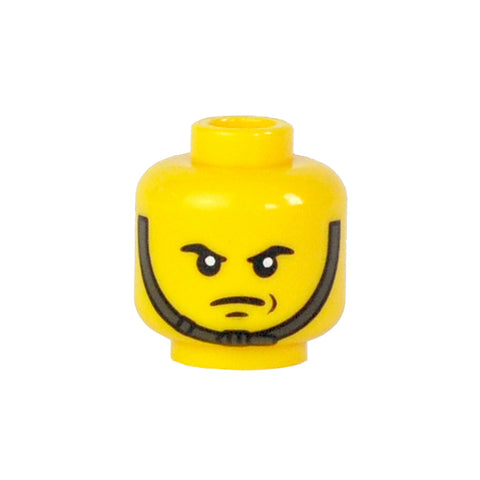 Chin Strap Head v2 - Yellow