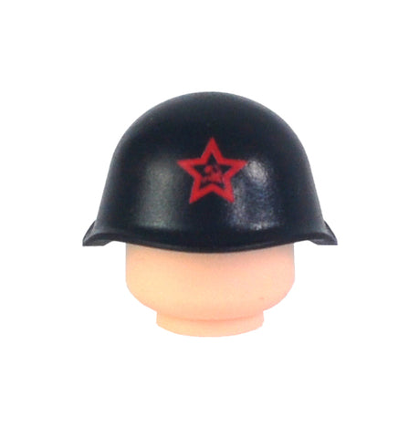 Russian SSh-40 Helmet - Black