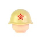 Russian SSh-40 Helmet - Light Tan