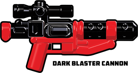 BrickArms Trooper Dark Blaster Cannon