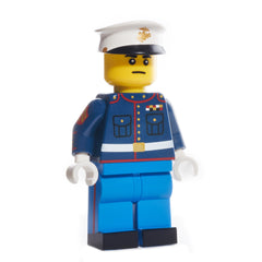 USMC Dress Blue Uniform - Yellow